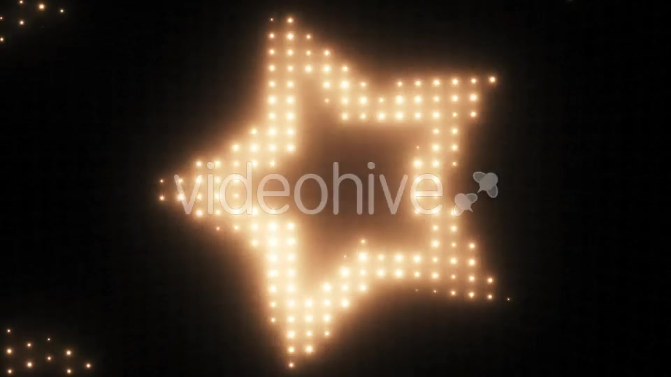 Wall of Lights Star VJ Loop Videohive 19751175 Motion Graphics Image 2