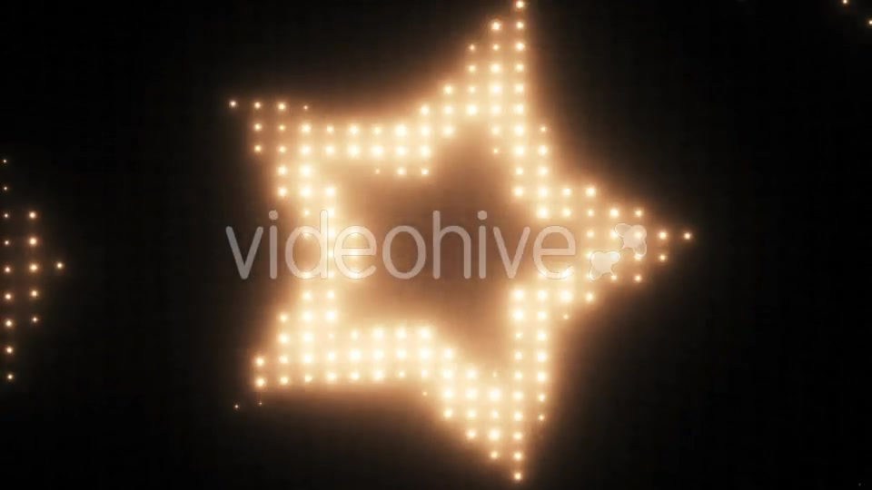 Wall of Lights Star VJ Loop Videohive 19751175 Motion Graphics Image 3