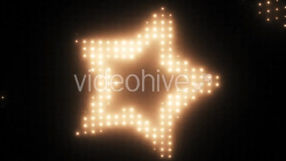 Wall of Lights Star VJ Loop Videohive 19751175 Motion Graphics Image 5
