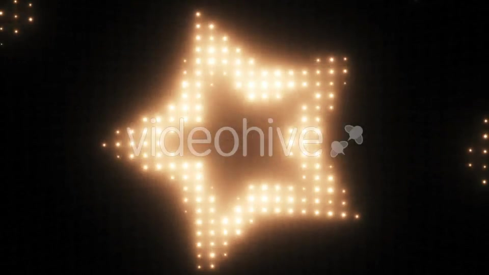 Wall of Lights Star VJ Loop Videohive 19751175 Motion Graphics Image 6