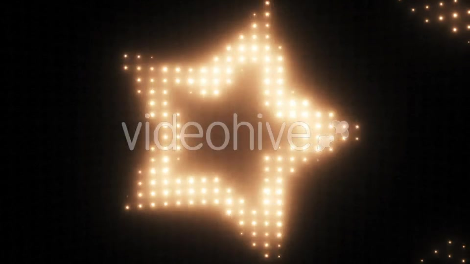 Wall of Lights Star VJ Loop Videohive 19751175 Motion Graphics Image 7