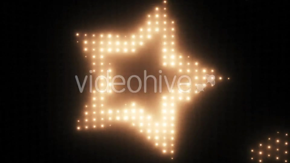 Wall of Lights Star VJ Loop Videohive 19751175 Motion Graphics Image 9