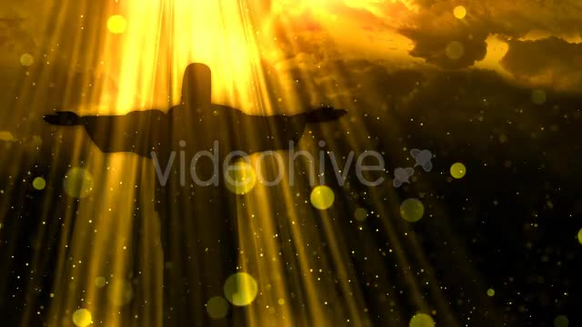 Worship Background Christ the Redeemer Videohive 19826900 Motion Graphics Image 1