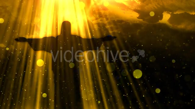 Worship Background Christ the Redeemer Videohive 19826900 Motion Graphics Image 10