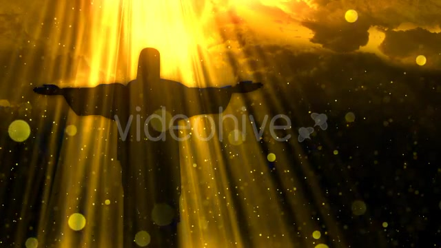 Worship Background Christ the Redeemer Videohive 19826900 Motion Graphics Image 2