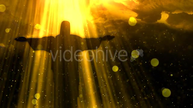 Worship Background Christ the Redeemer Videohive 19826900 Motion Graphics Image 4