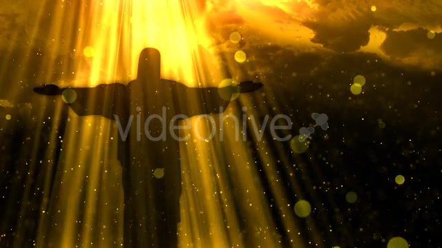 Worship Background Christ the Redeemer Videohive 19826900 Motion Graphics Image 7