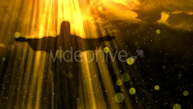 Worship Background Christ the Redeemer Videohive 19826900 Motion Graphics Image 8