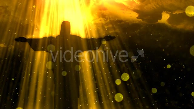 Worship Background Christ the Redeemer Videohive 19826900 Motion Graphics Image 9