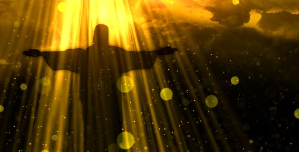 Worship Background Christ the Redeemer - Download 19826900 Videohive